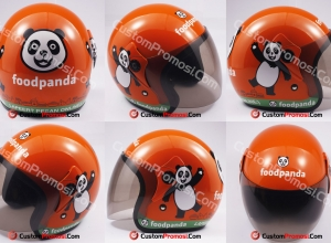 Helm Promosi Food Panda