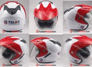 Helm Custom Promosi Tel & C