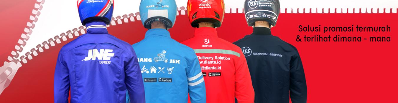 Jaket Dengan Logo Sendiri